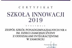 dyplom innowacja